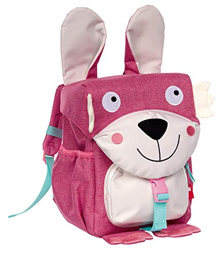 SIGIKID 25080 Rucksack Hase School Mädchen Kinderrucksack empfohlen ab 3 Jahren rosa
