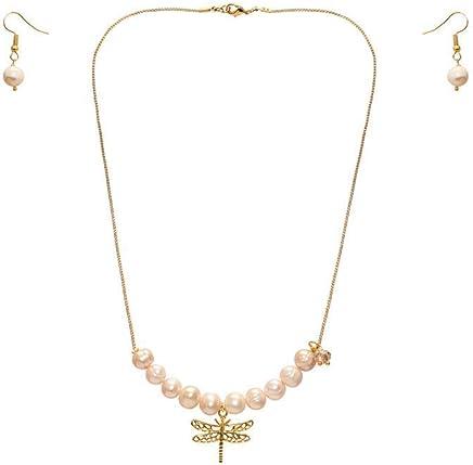 b1cbe7453332 Collar corto con 10 perlas cultivadas beige