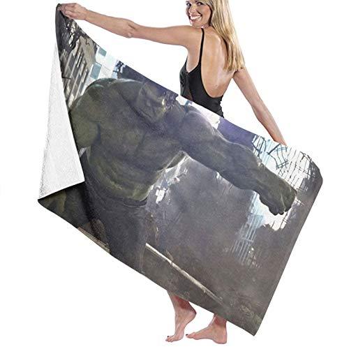 Green-Hulk - Toallas de playa de microfibra súper absorbentes, secado rápido, toalla de playa para viajes, piscina, deporte, hotel, gimnasio, spa