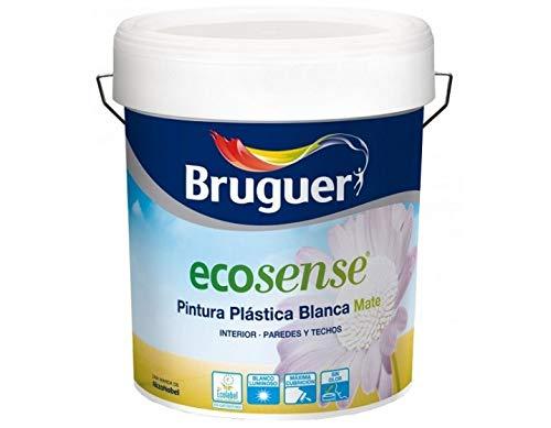 BRUGUER 5159758 Pintura PLÁSTICA ECOLOGICO ECOSENSE Blanco Luminoso 4 L