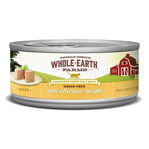 Whole Earth Farms Grain Free Receipe, 2.75 oz, Chicken, 24 Count
