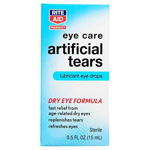 Rite Aid Pharmacy Artificial Tears, Sterile, 0.5 fl oz (15 ml)