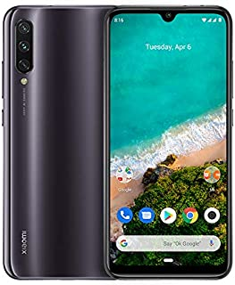 Xiaomi Mi A3 64GB + 4GB RAM, Triple Camera, 4G LTE Smartphone - International Global Version (Kind of Grey)