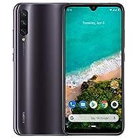 "Xiaomi Mi A3 Smartphone 6,088"" AMOLED, 48MP AI Triple Cámara, Dual SIM, 4 RAM + 64 GB ROM, Qualcomm Snapdragon 665, Procesador Octa-core, Color Gris"