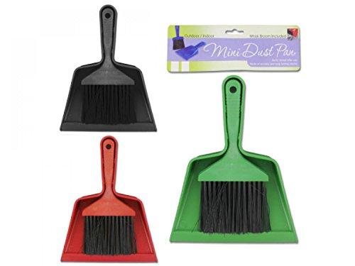 bulk buys Mini Brush Dust Pan Set - Set of 24, [Household Supplies, Dust Pans]