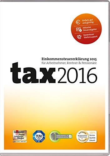 Preisvergleich Produktbild tax 2016 (für Steuerjahr 2015 / Frustfreie Verpackung)
