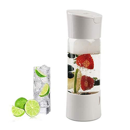 HXZB Maker Soda Sifon, draagbaar, voor vruchtensap, bubble, knutselen, gezondheid, dranken, geen CO2-fles, 500 ml