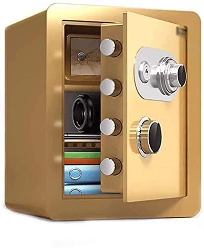 Caja fuerteCXSMKP Caja Seguridad ignífugo Hogar COAXIAL COAXIAL COOXIAL All-Steel Anti-Robo Pequeño Cerradura Mecánica Safe Smart Home Safe