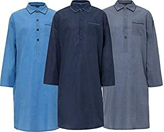 INSIGNIA Mens Lightweight Nightshirt (1 or 3 Pack)