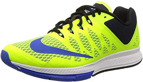Nike Men's Air Zoom Elite 7 Volt/Lyon Blue/Black Running Shoe 11 Men US