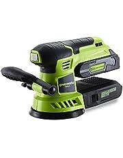 Greenworks Tools G24ROS Excenterslipmaskin 24 V – 3100107, grön