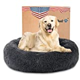 Calming Dog Bed for XX-Large Dogs - The Original Round...