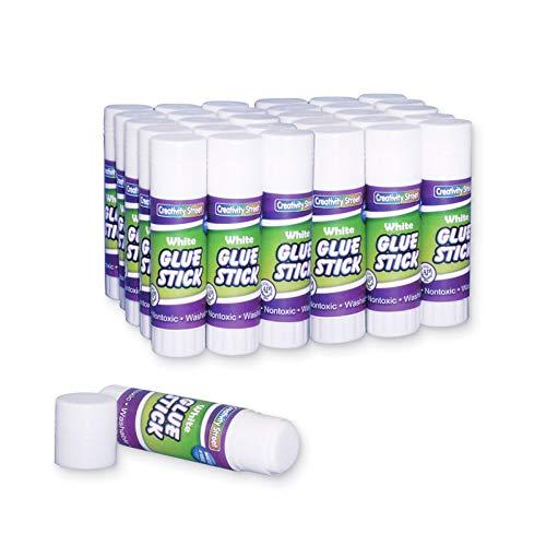 Creativity Street Glue Stick, 30-Pack, .28-Ounce, White