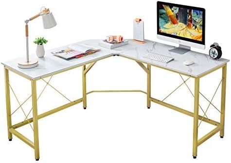 Mr IRONSTONE L Shaped Desk 59 Computer Corner Desk Home Gaming Desk Office Writing Workstation product image