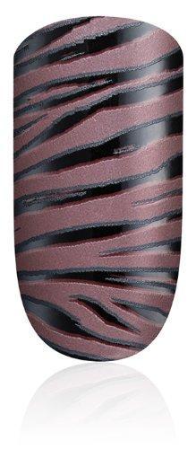 essie Nailsticker A TO ZEBRA Nr. 05 glänzend schwarzes Zebra-Muster / luxuriöse selbstklebende...