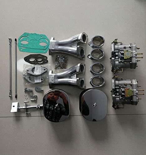 La Conversión Del Carburador Kit Carburador For VW TIPO 1 FAJS HPMX WEBER IDF DUAL 40mm KIT DE CARB T1 Corto Vinculación Durable