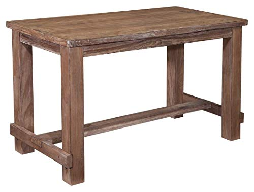 Wood dining table fifth wedding anniversary gift idea for your husband