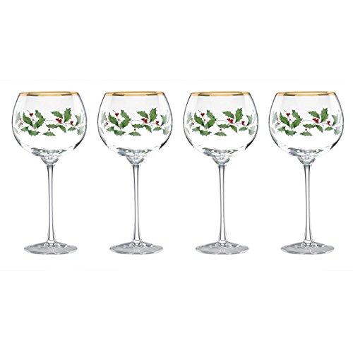 Lenox Holiday 4-Piece Wine Glass Set