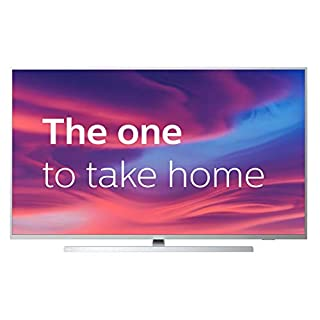 Philips 50PUS7304/12 50-Inch 4K UHD Android Smart TV with Ambilight and HDR 10+, Works With Alexa - Bright Silver (2019/2020 Model) [Amazon Exclusive] (B07R4WK965) | Amazon price tracker / tracking, Amazon price history charts, Amazon price watches, Amazon price drop alerts