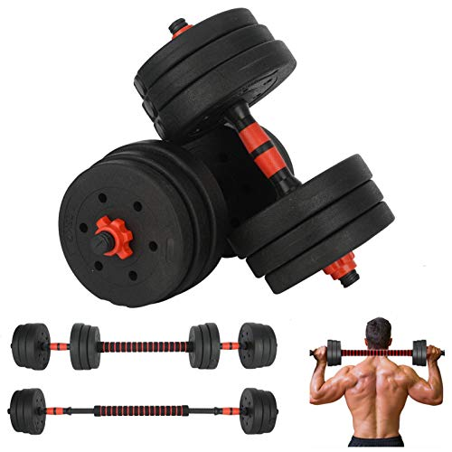 20Kg Dumbbells Set Adjustable Dumbbells Weights Set For Training Home Gym Equipment Free Weights