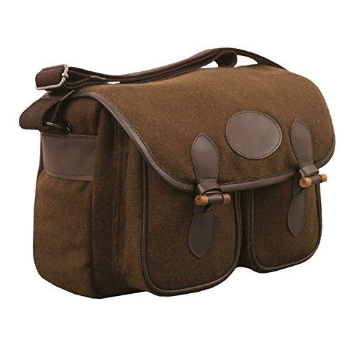 Fritzmann Edle Jagdtasche Wolle viele Taschen Umhängetasche Jägertasche Schultertasche