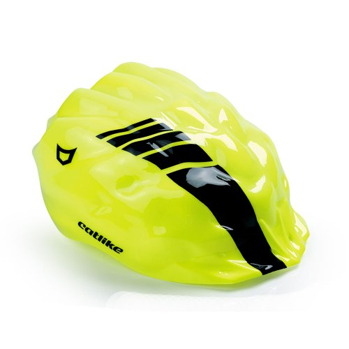 Catlike Whisper - Casco de ciclismo, color blanco / rojo brillo, talla SM (54-56 cm)