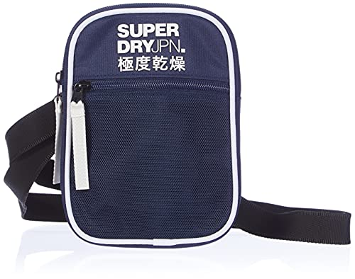 Superdry Mens Sport Pouch Bags, Navy, One Size
