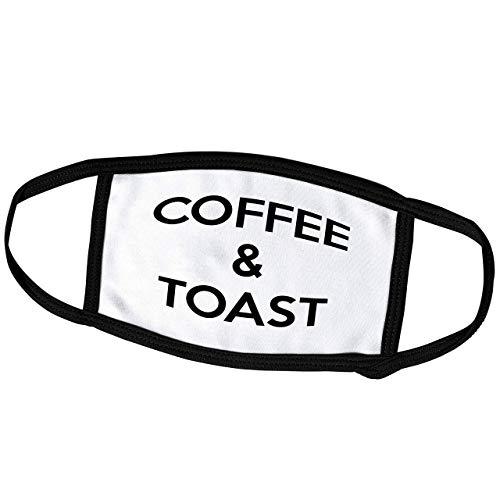 Promini Monatsmaske – Tory Anne Collections Zitate – Kaffee und Toast – Staubmaske Outdoor Schutzmaske