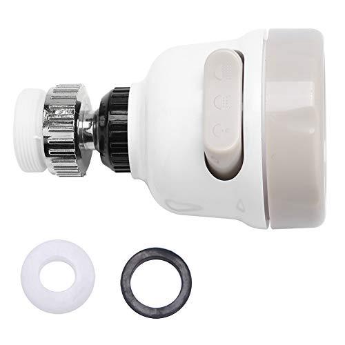 Aiggend 360 Rotary Faucet Booster, 3 Modos Anti-Salpicadura Filtros para Grifo de 360 Grados Dispositivo de Ahorro de Agua para Cocina Baño Ducha Faucet