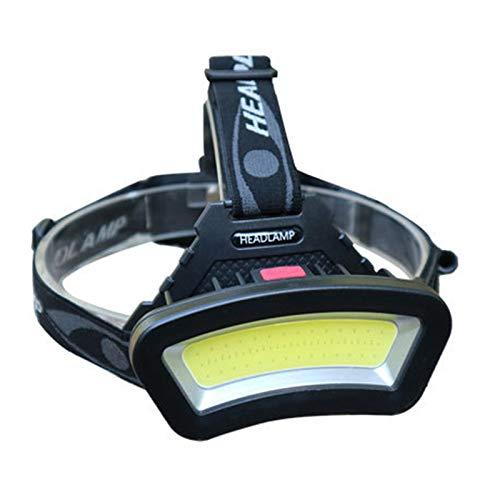 Ueohitsct Faro 4 modos LED luz de trabajo USB noche cabeza lámpara con luz roja para acampar al aire libre senderismo pesca