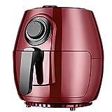 La freidora de aire es libre de aceite, operación simple de la freidora eléctrica de gran capacidad de 4 litros, 360 °;El sistema de circulación de aire de alta velocidad puede ajustar la temperatur
