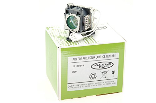 Lámpara de proyector Alda PQ CS.5JJ1B.1B1 / 5J.J1S01.001 / CS.5JJ2F.001 / 5J.J1M02.001 para BENQ MP610 MP620P MP720P MP770 W100, Proyectores, módulo de la lámpara con la Caja