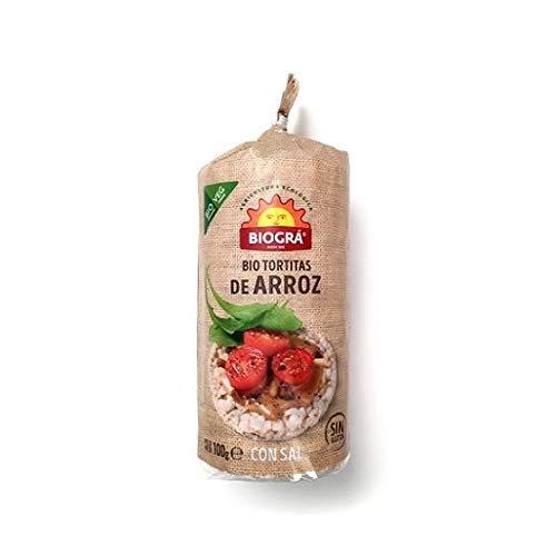 Biográ Torta De Arroz Con Sal 100G 500 g