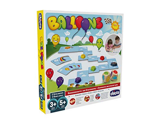 Chicco 00009169000100 Family Game Balls - D - Juego de balones, multicolor, 480 g