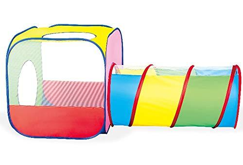 Brigamo Pop Up Zelt Spieltunnel Kinderzelt Bällebad