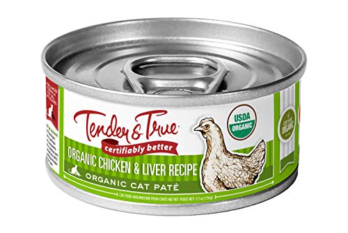 Tender & True Organic Chicken & Liver Recipe Canned Cat Food | Chewy
