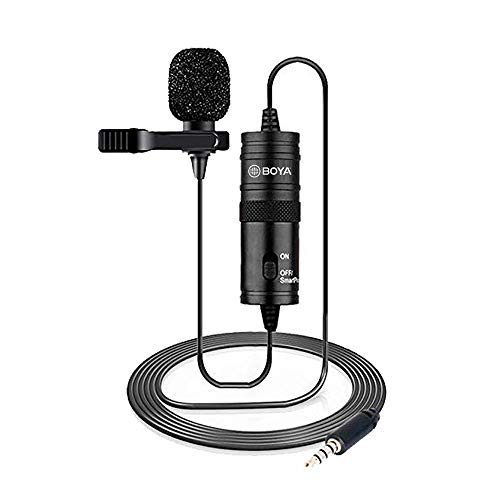 19 Feet Lavalier Microphone for Canon...