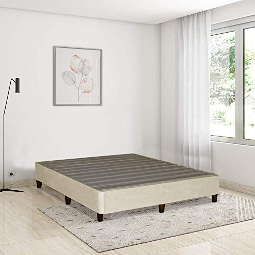 Mayton Platform Bed For Mattress, Eliminate Need For Box...