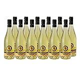 Les Tortues Gros Manseng Côtes de Gascogne Blanc 2019 - Domaine d'Uby - Vin IGP Blanc du Sud-Ouest - Cépage Gros Manseng - Lot de 12x75cl