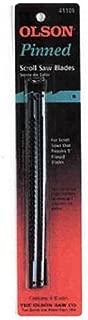 FR41001 OLSON SAW 6 Pack 7 TPI Scroll Saw Blade,