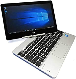 "HP Elitebook Revolve 810 G3 Tablet Laptop Intel Core i5 5300u 2.30Ghz 8Gb Ram 128Gb Solid State Drive 12.5"" Touch WiFi USB 3.0 Display Port Webcam Windows 10 (Renewed)"