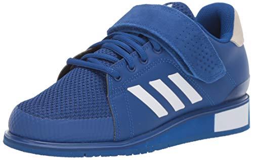 adidas Men's Power Perfect III. Cross Trainer, Collegiate Royal/White/Collegiate Royal, 3.5 UK
