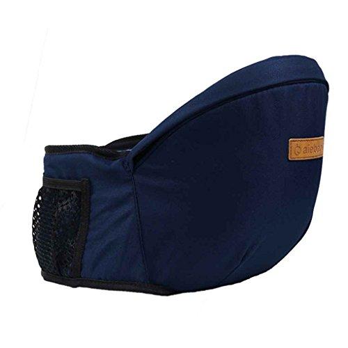 Beaums Aiebao Baby-Hip-Sicherheitsgurt Träger Toodler Taille Hocker-Sitzträger-Baby 45 Grad Sling Halten Gürtel Säuglingshüfte A6606 Sitz