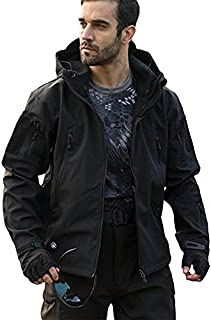 Top Greener Mens Jacket Windbreaker Soft Shell Waterproof Lightweight Work Winter Coat