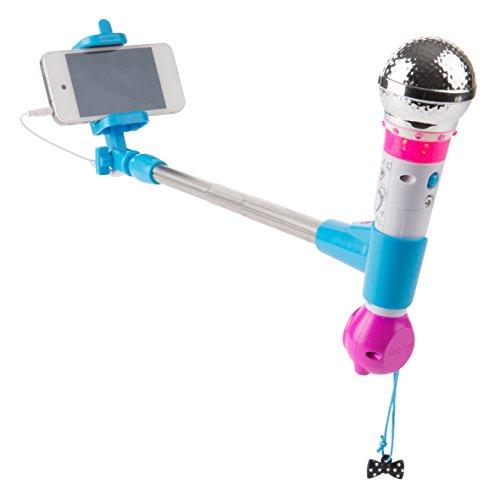 Smoby Maggie & Bianca Microfono con Asta Selfie, 7600520117