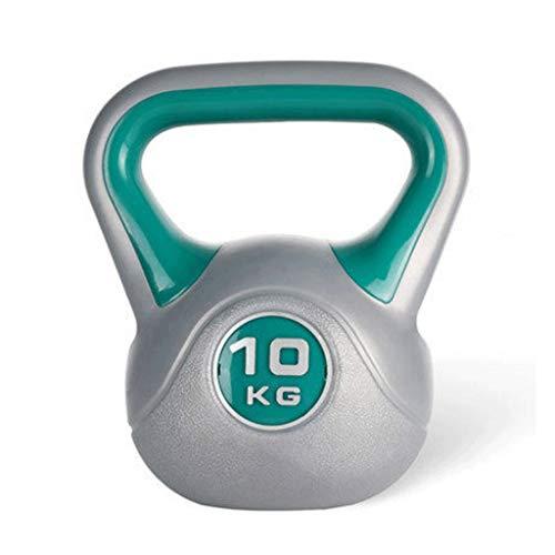 Manubri Fitness 1 Pz manubri Indoor Attrezzature for Il Fitness di qualità Professionale Multicolore Dip Kettlebell Bilanciere High-End Fitness Kettlebell Manubri Set (Color : 10 kg)