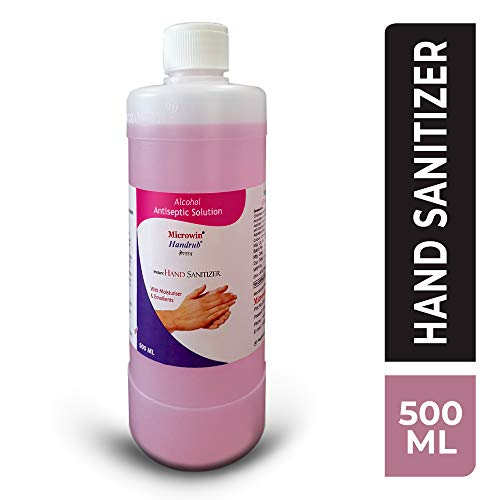 Microwin Handrub 70% Alcohol Based Hand Sanitizer - 500 ml