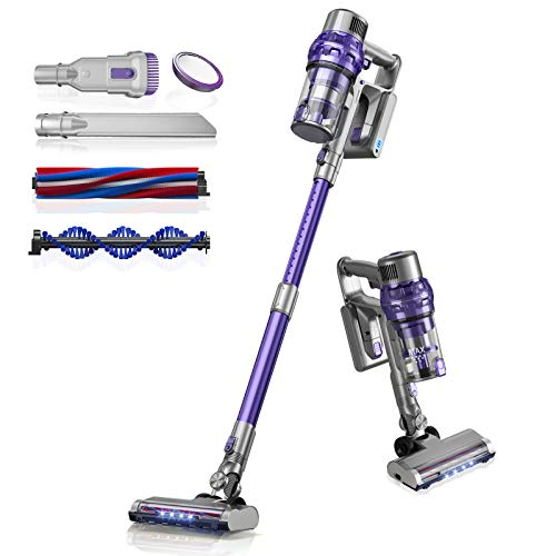 Laresar Cordless Vacuum Cleaner, 26000pa Elite 1 Stick Vacuum with LED,...