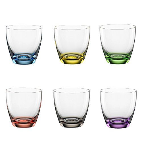 Cristal de Bohemia., Decorado con colores., 300 ml
