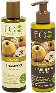 EO Laboratorie natural & organic Balancing Set For Oily Hair Shampoo 250 ml + Conditioner 200 ml, 250ml+200ml